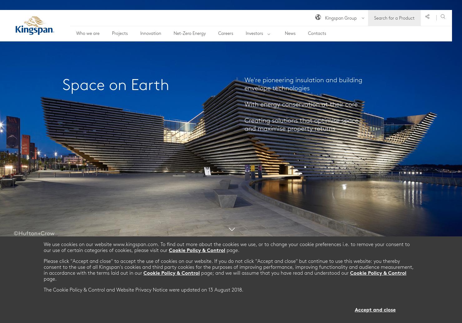 Kingspan Home Page