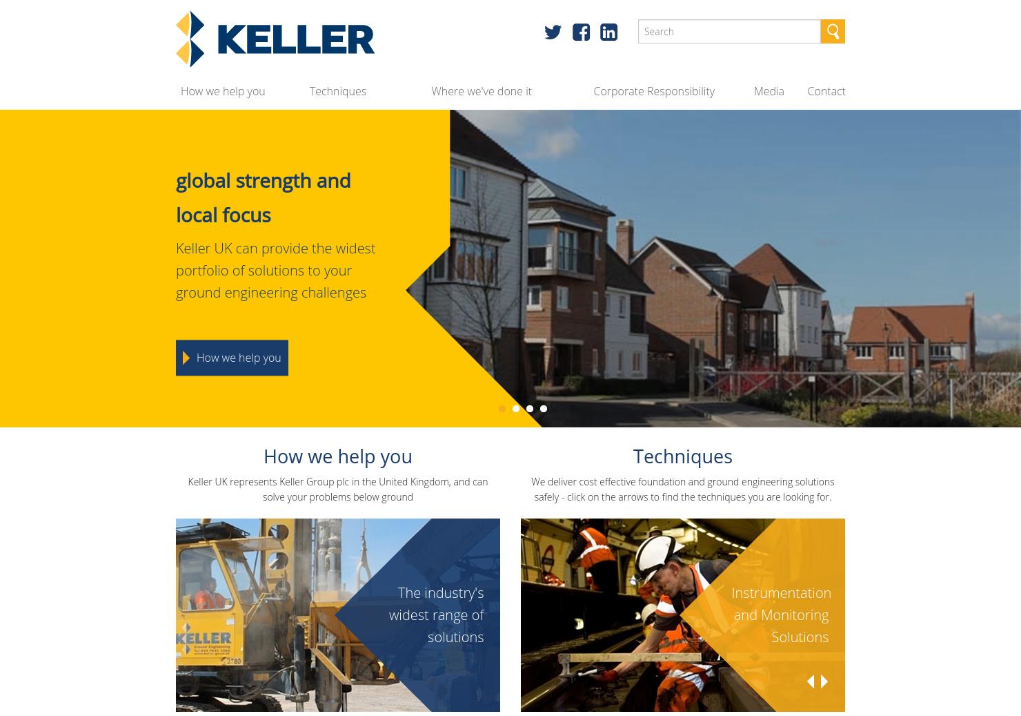 Keller Home Page