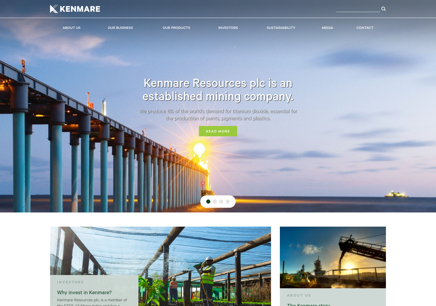 Kenmare Resources Home Page