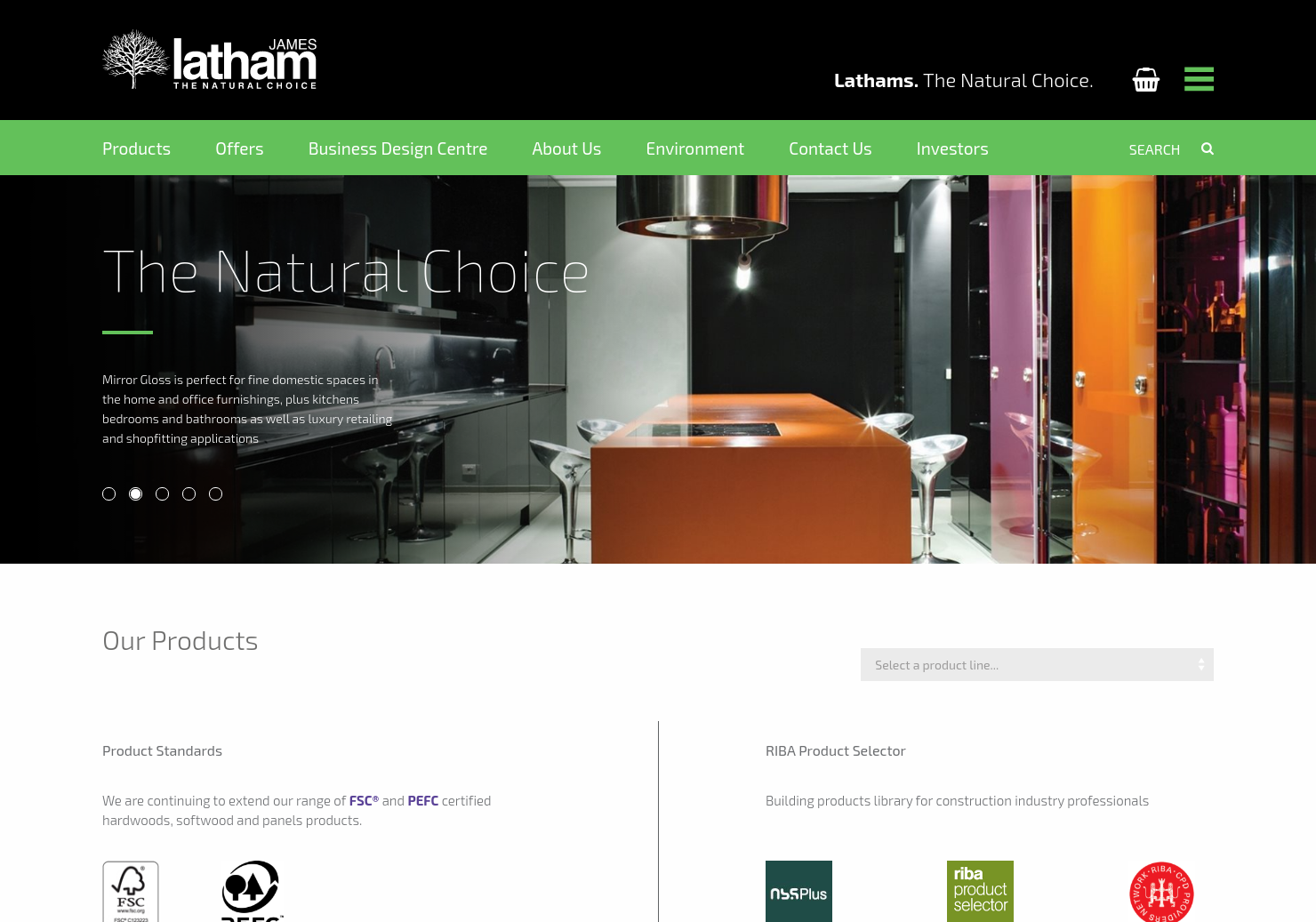 Latham Timber Home Page