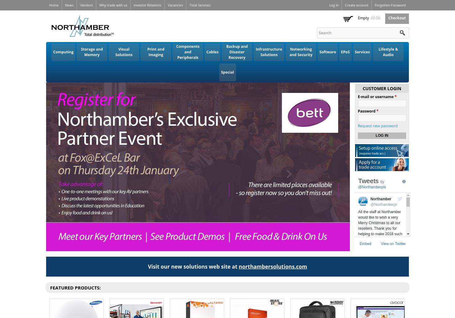 Northamber Home Page