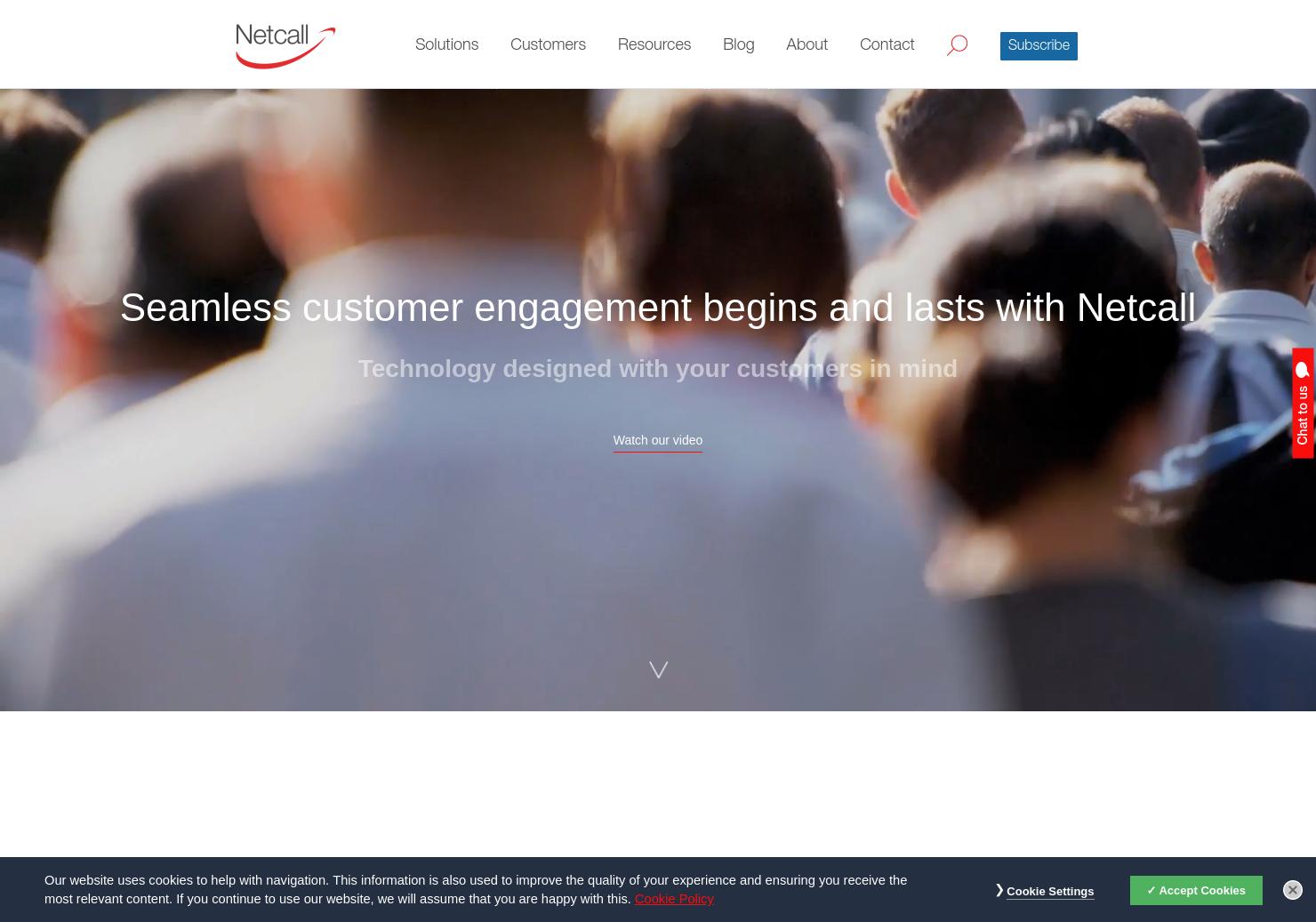 Netcall Home Page