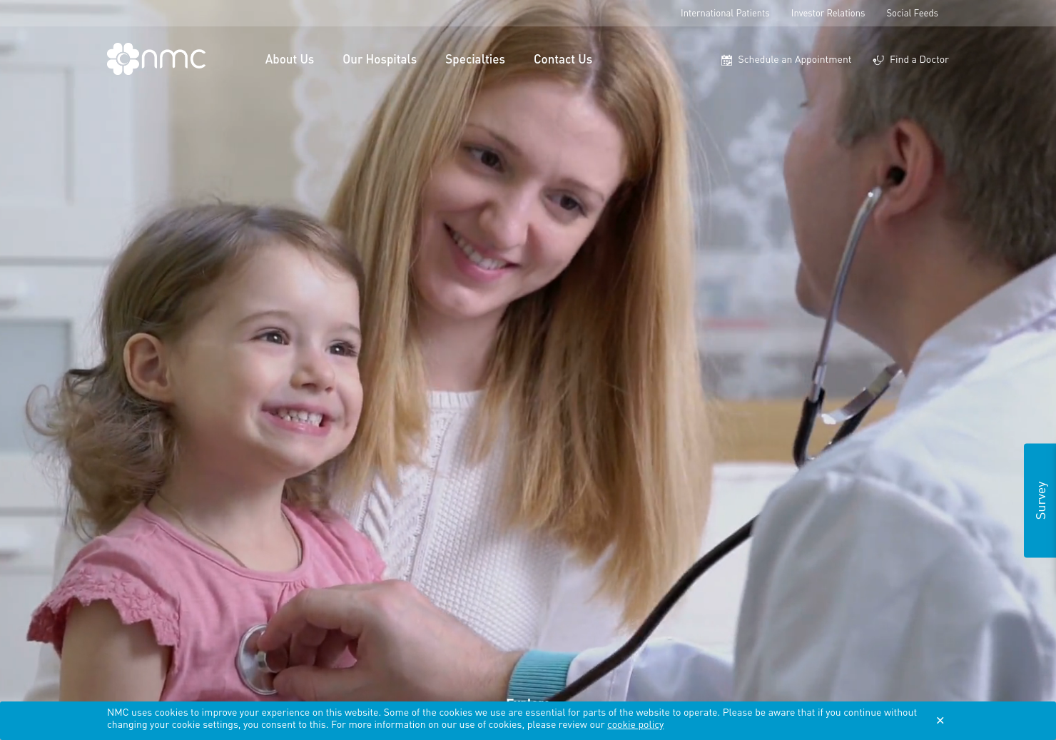 NMC Healthcare Home Page