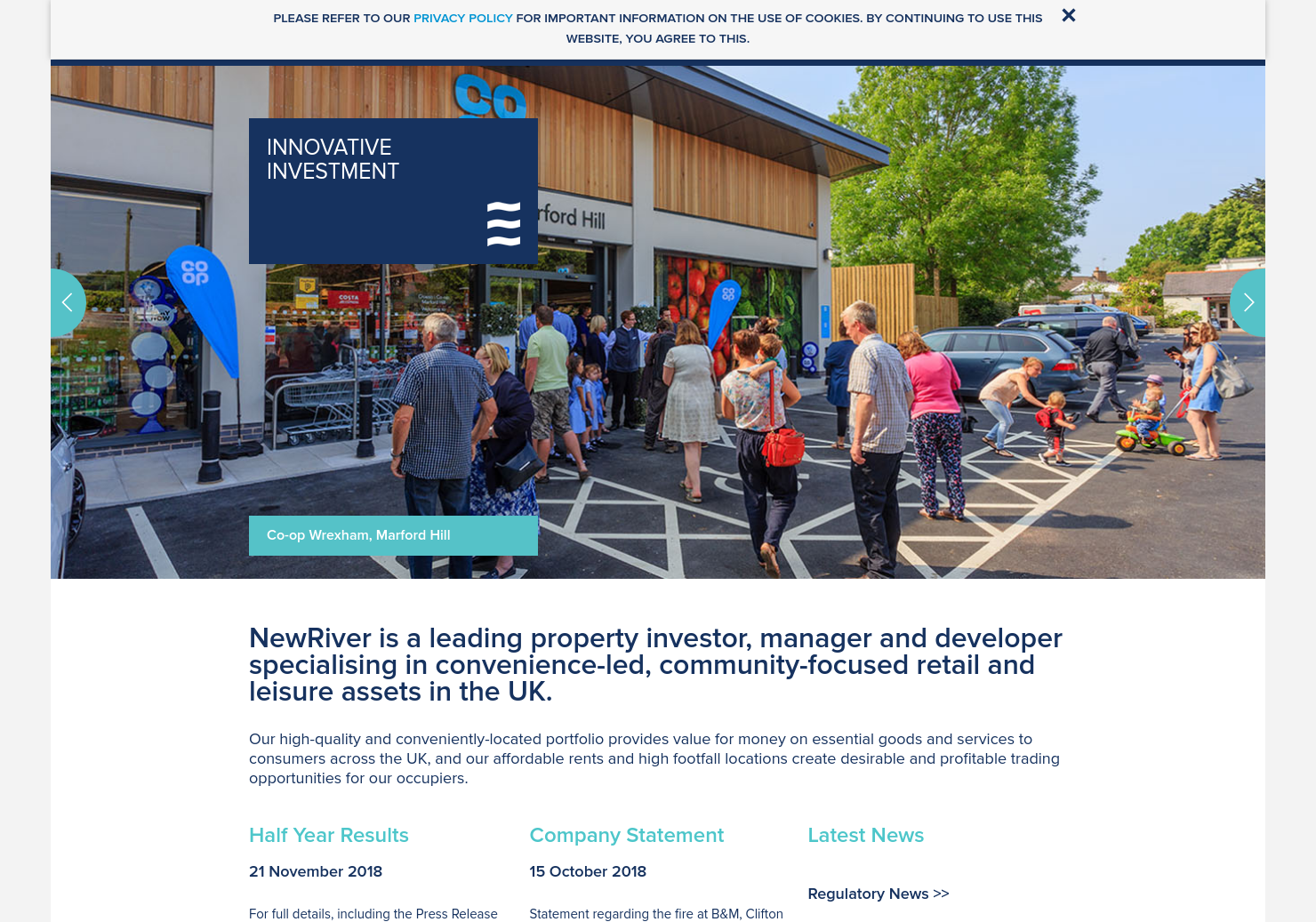 NewRiver Home Page