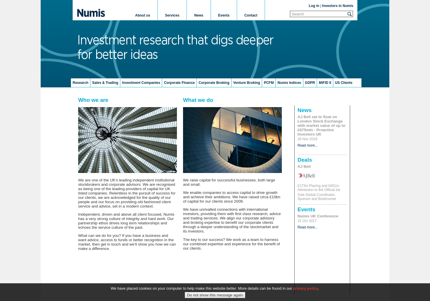 Numis Home Page