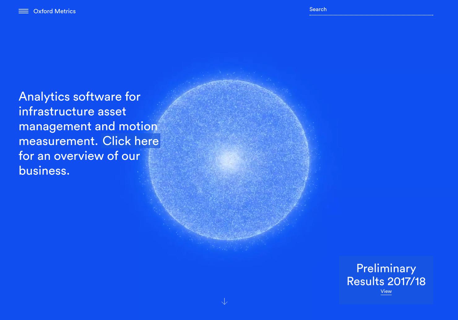 Oxford Metrics Home Page