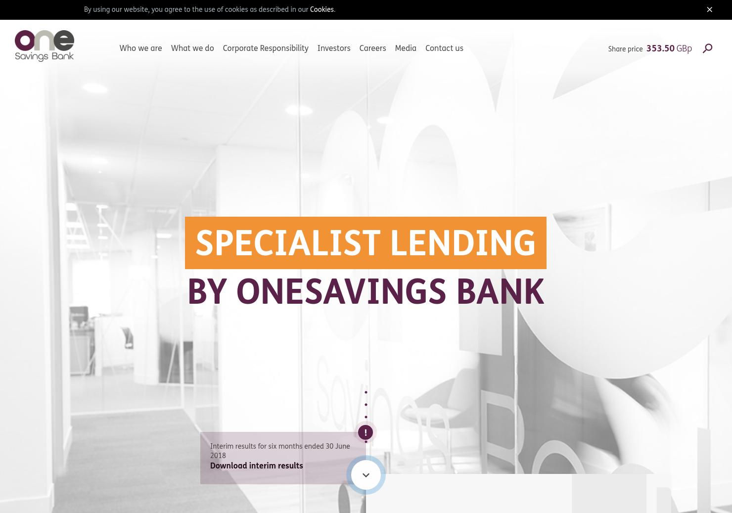 OneSavings Bank Home Page