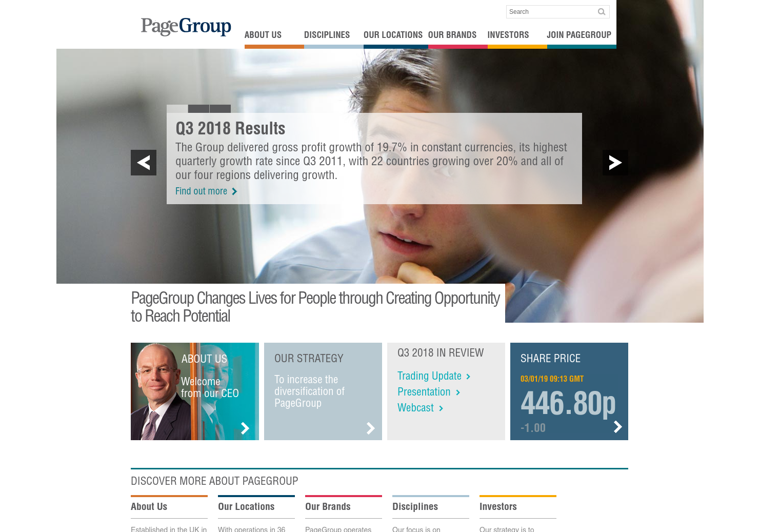 PageGroup Home Page