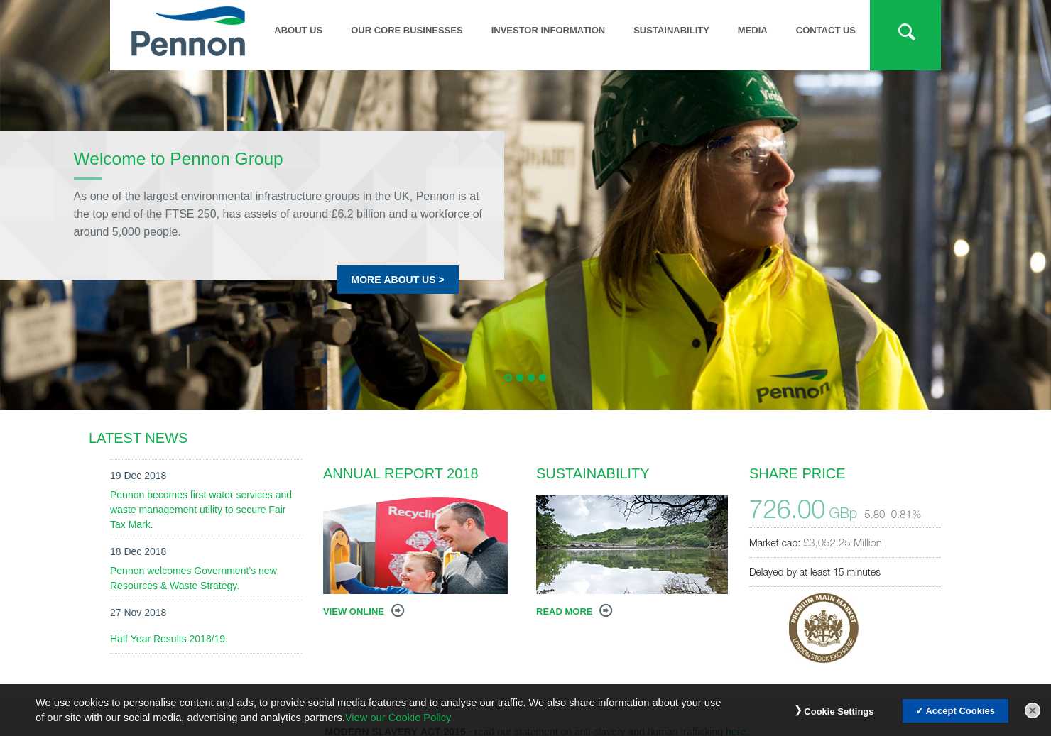 Pennon Home Page