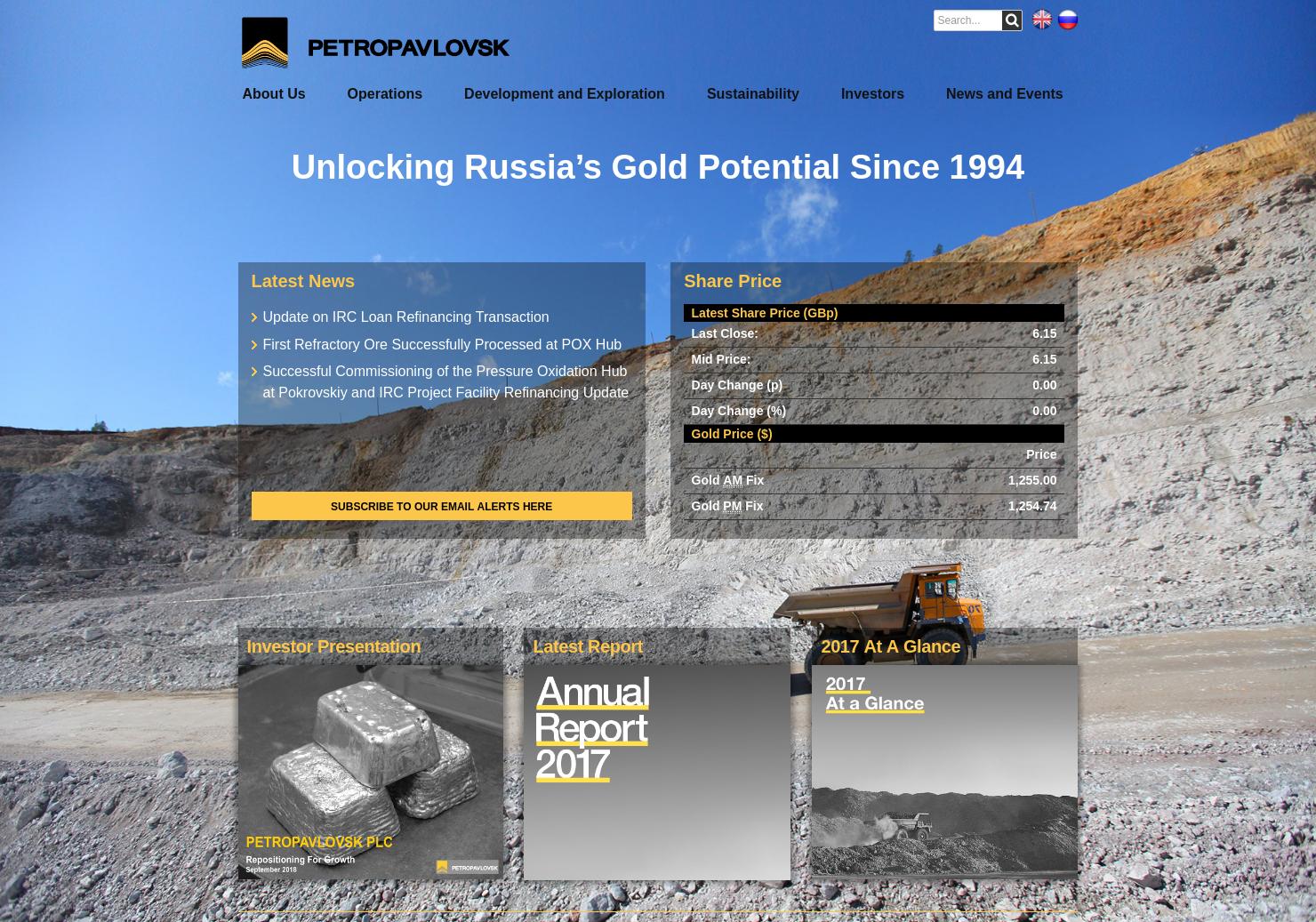 Petropavlovsk Home Page