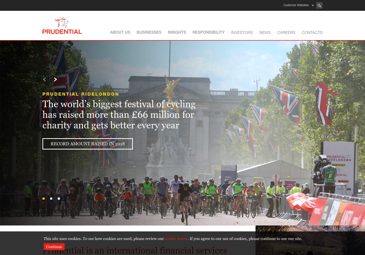 Prudential Home Page