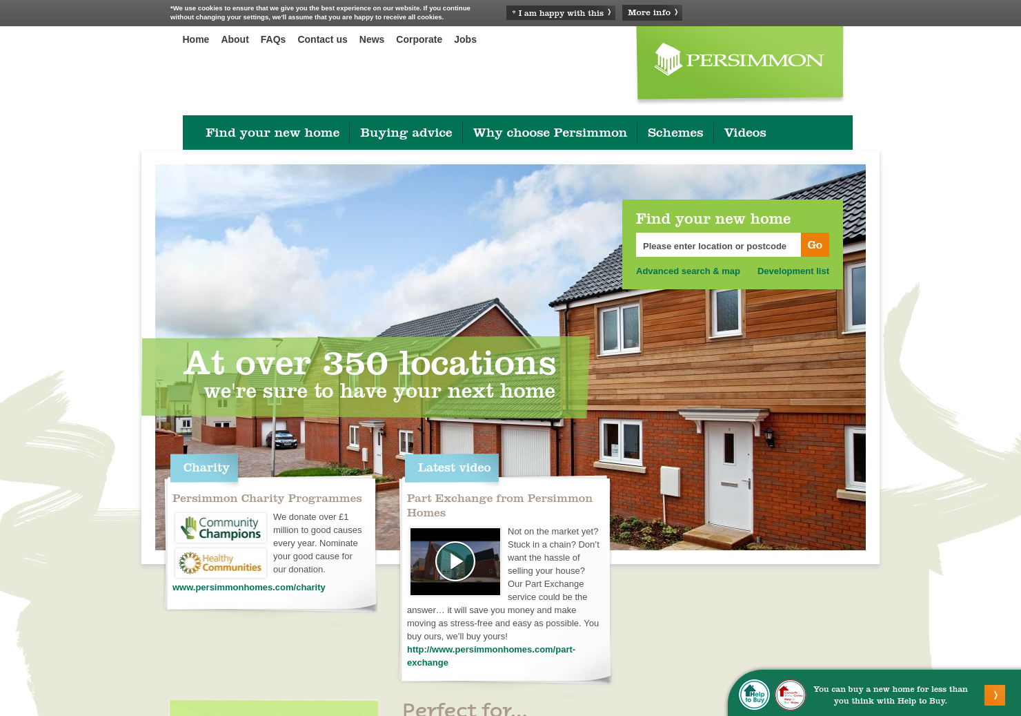 Persimmon Home Page