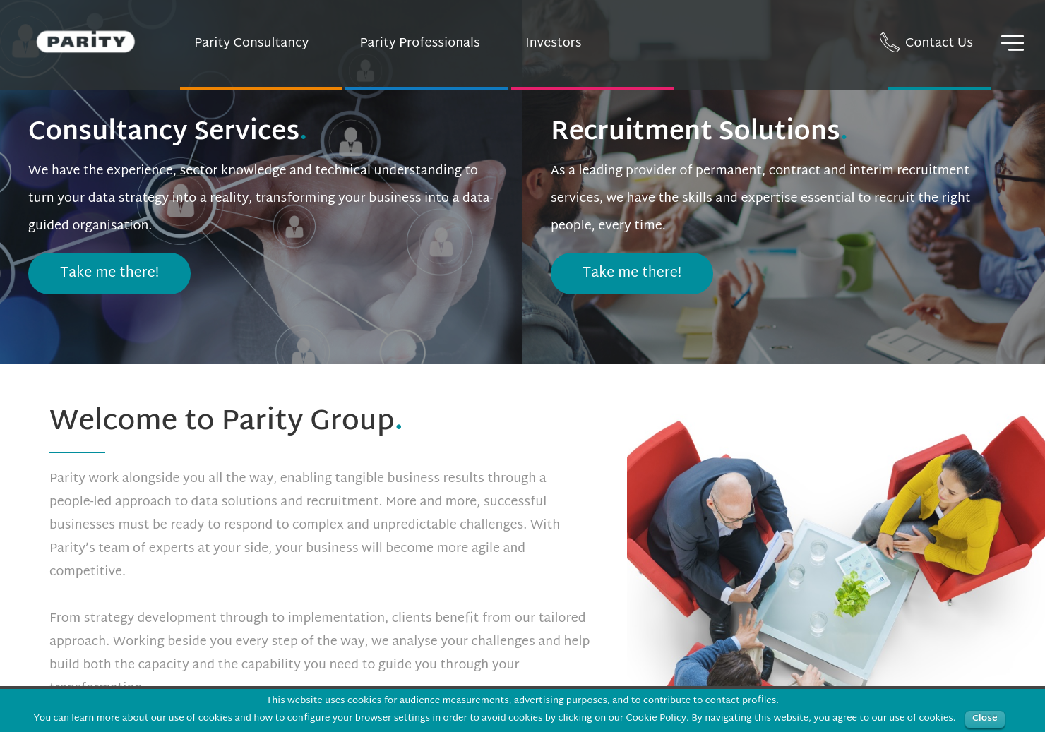 Parity Home Page