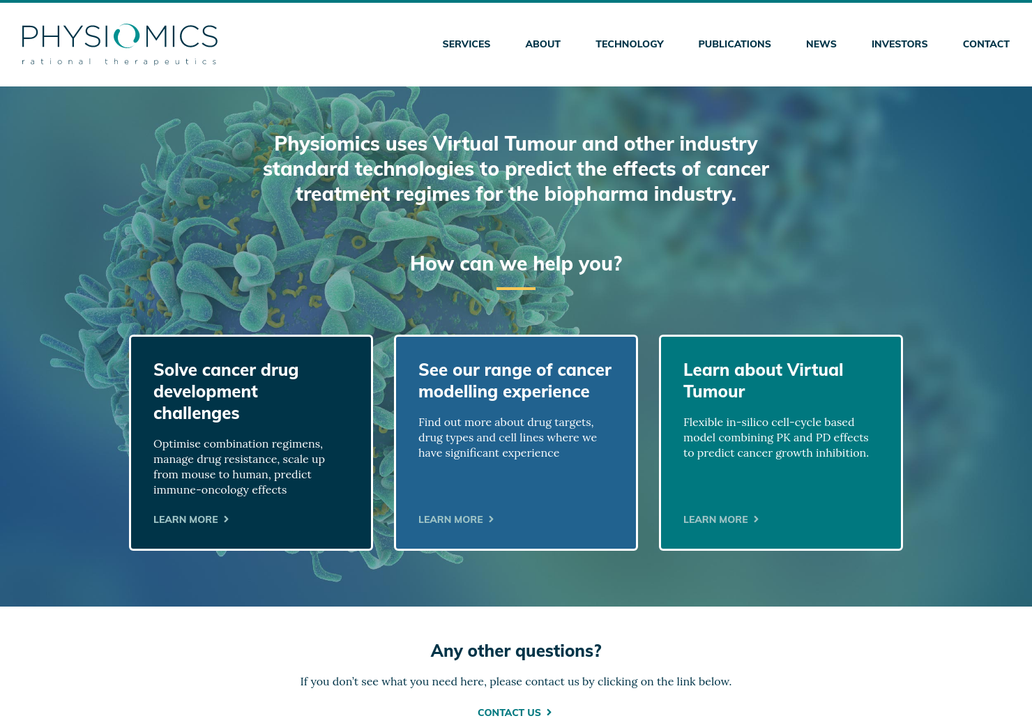 Physiomics Home Page