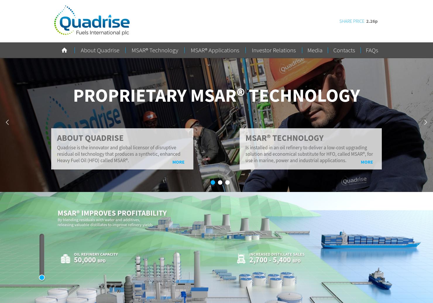 Quadrise Fuels Home Page