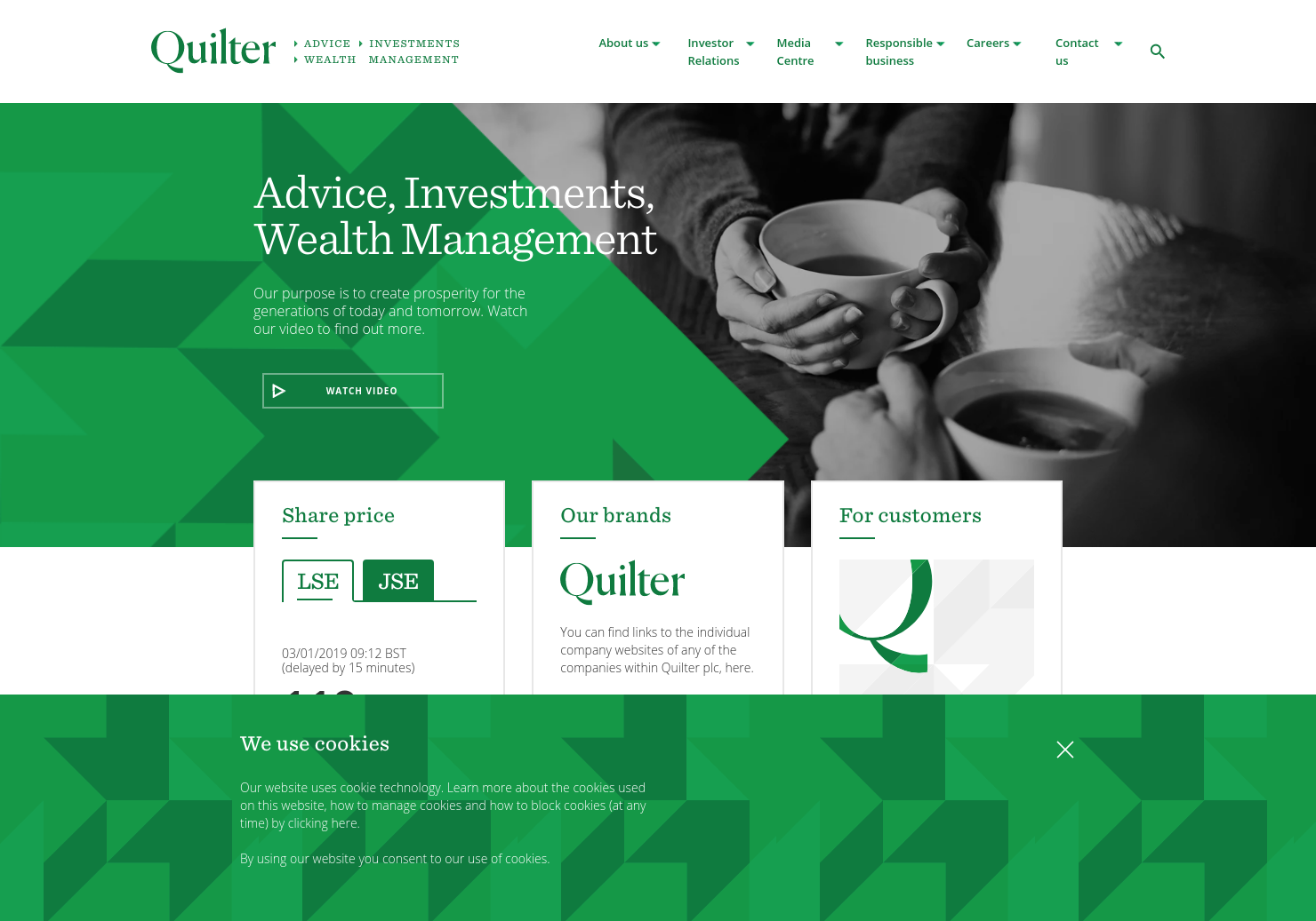 Quilter Home Page