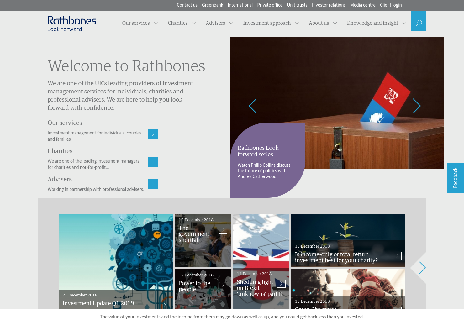 Rathbone Home Page