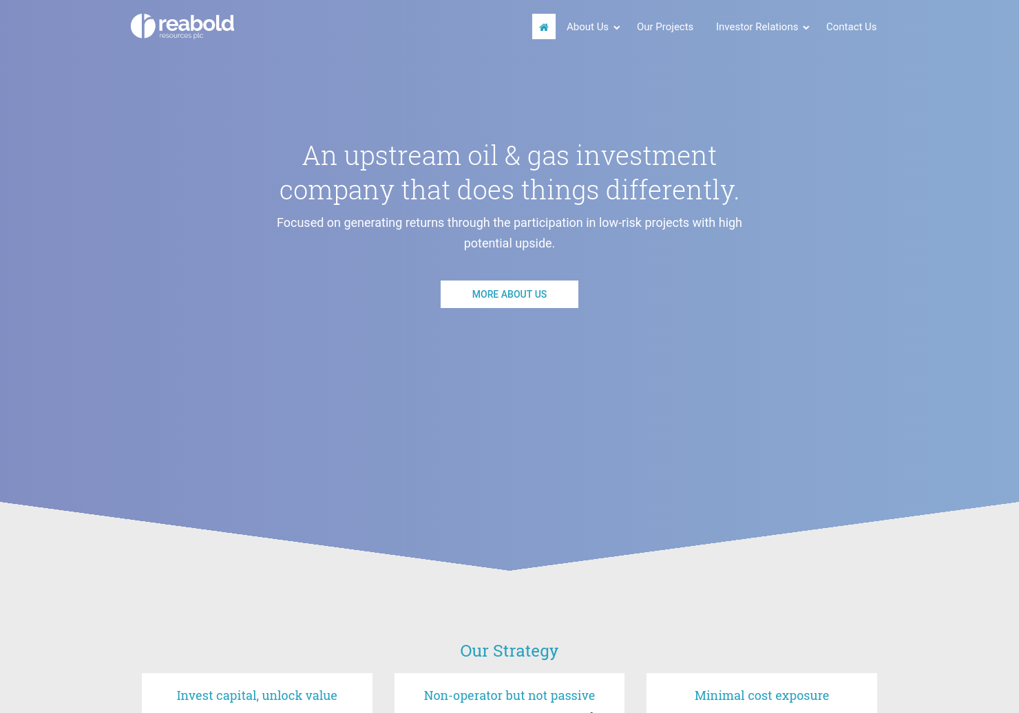 Reabold Resources Home Page