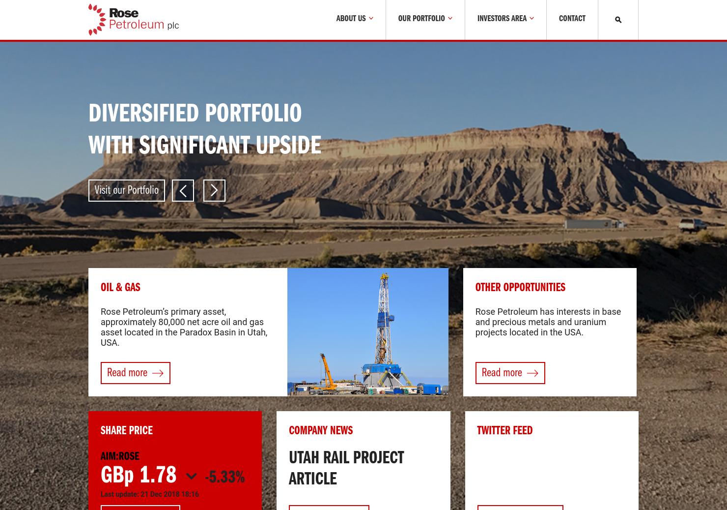 Rose Petroleum Home Page