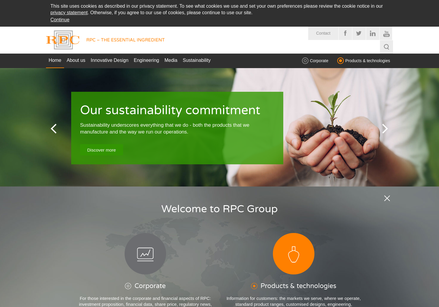 Rpc Group Home Page