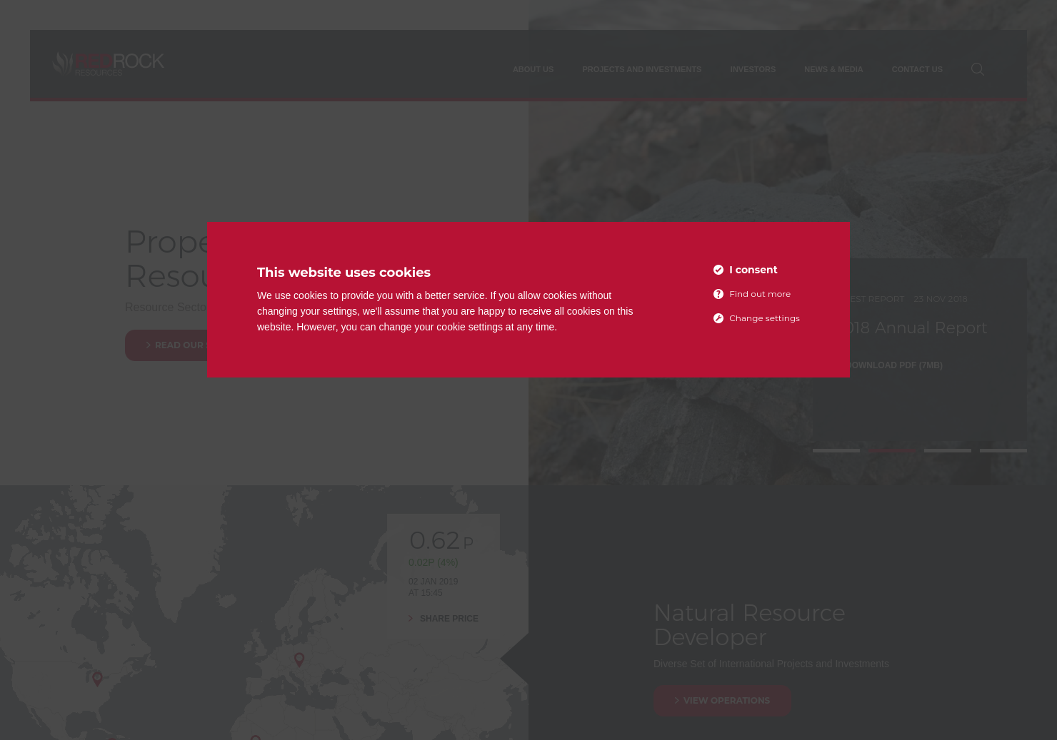 Red Rock Resources Home Page