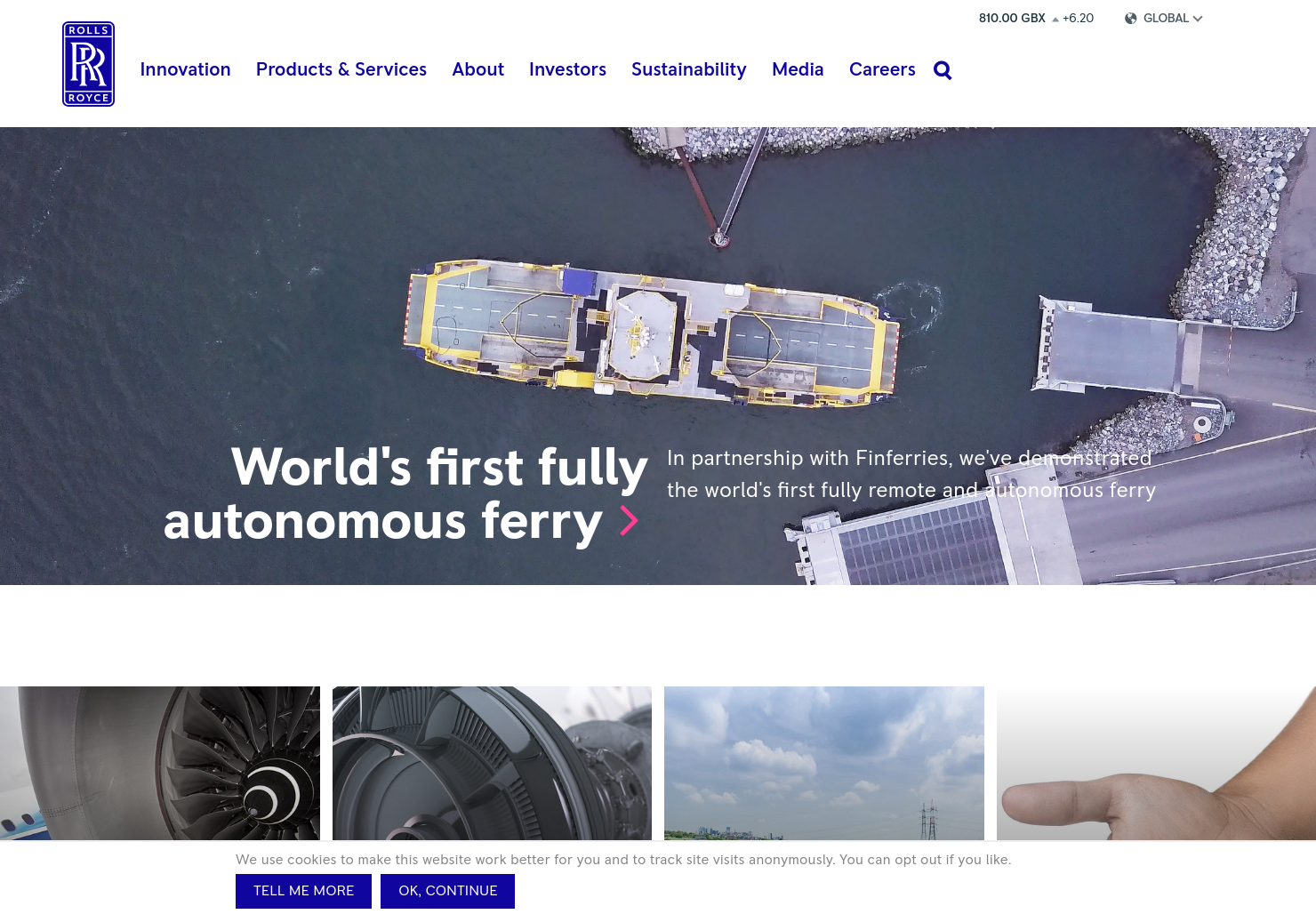 Rolls-Royce Holdings Home Page