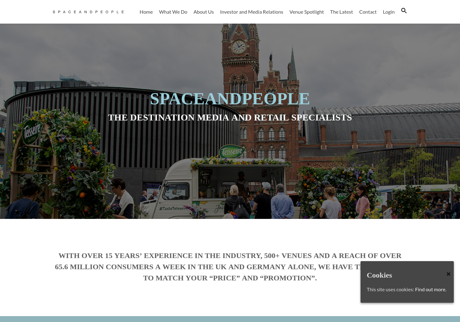 SpaceandPeople Home Page