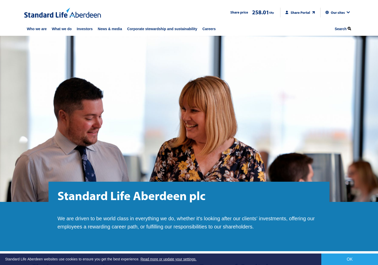 Standard Life Aberdeen Home Page