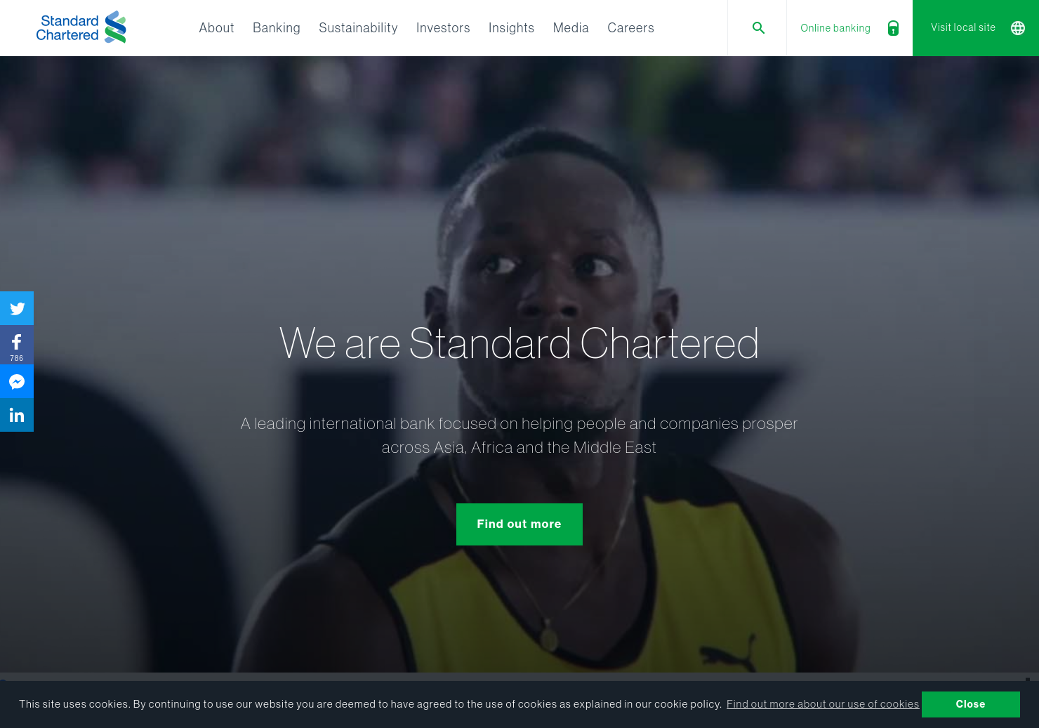 Standard Chartered Home Page