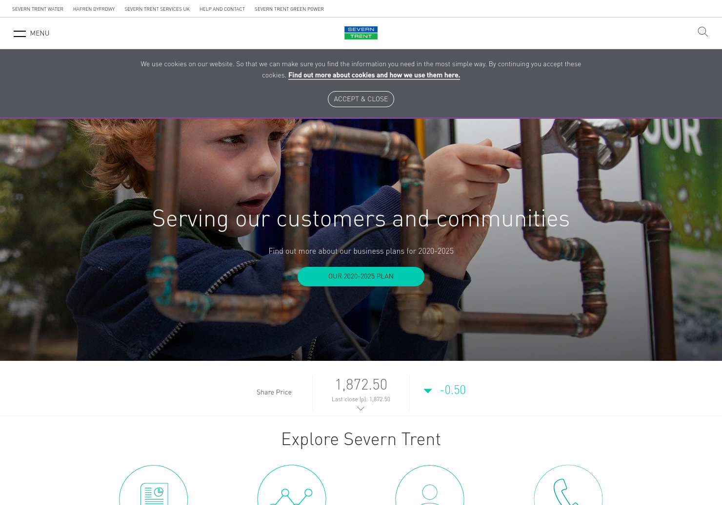 Severn Trent Home Page