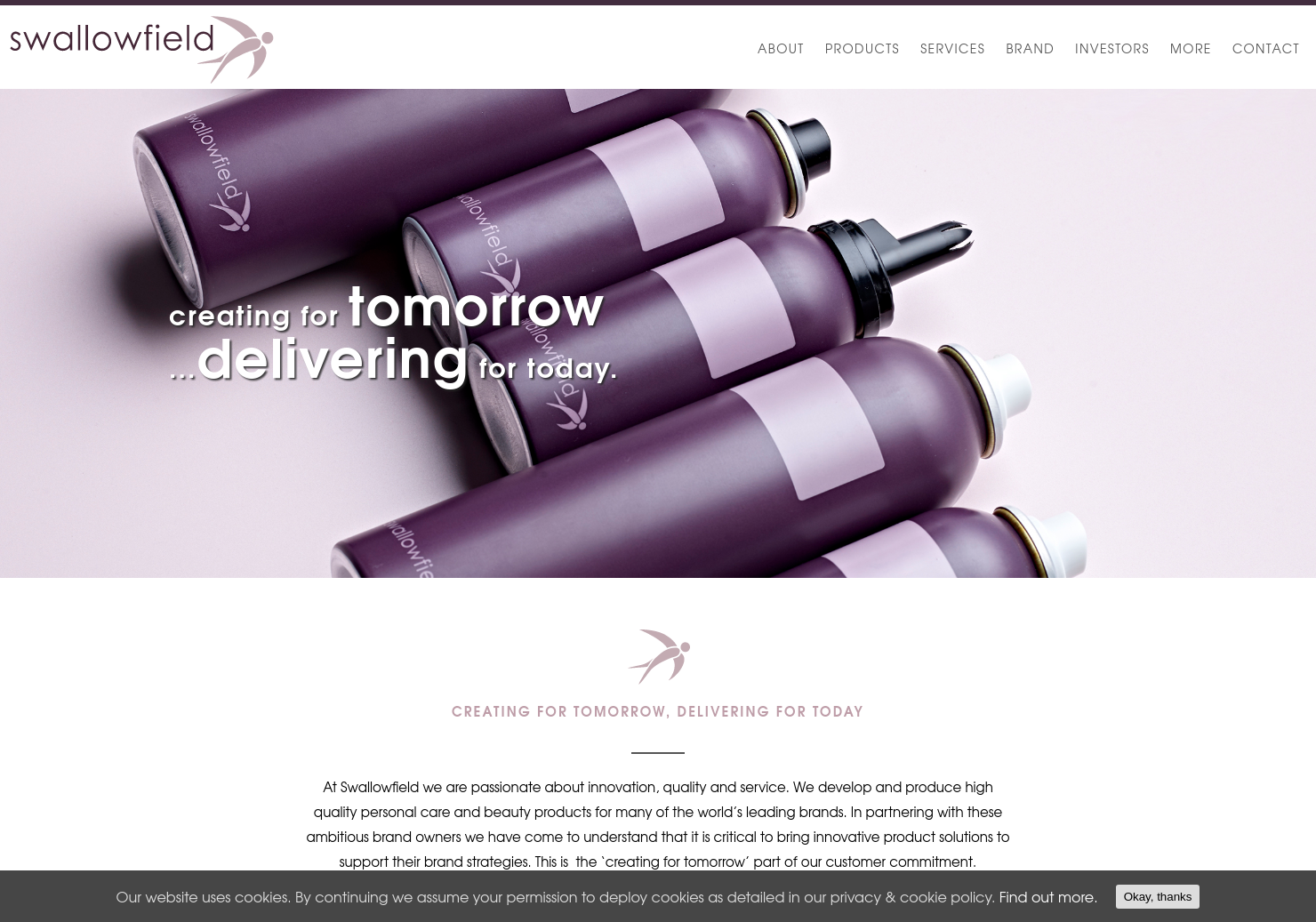 Swallowfield Home Page