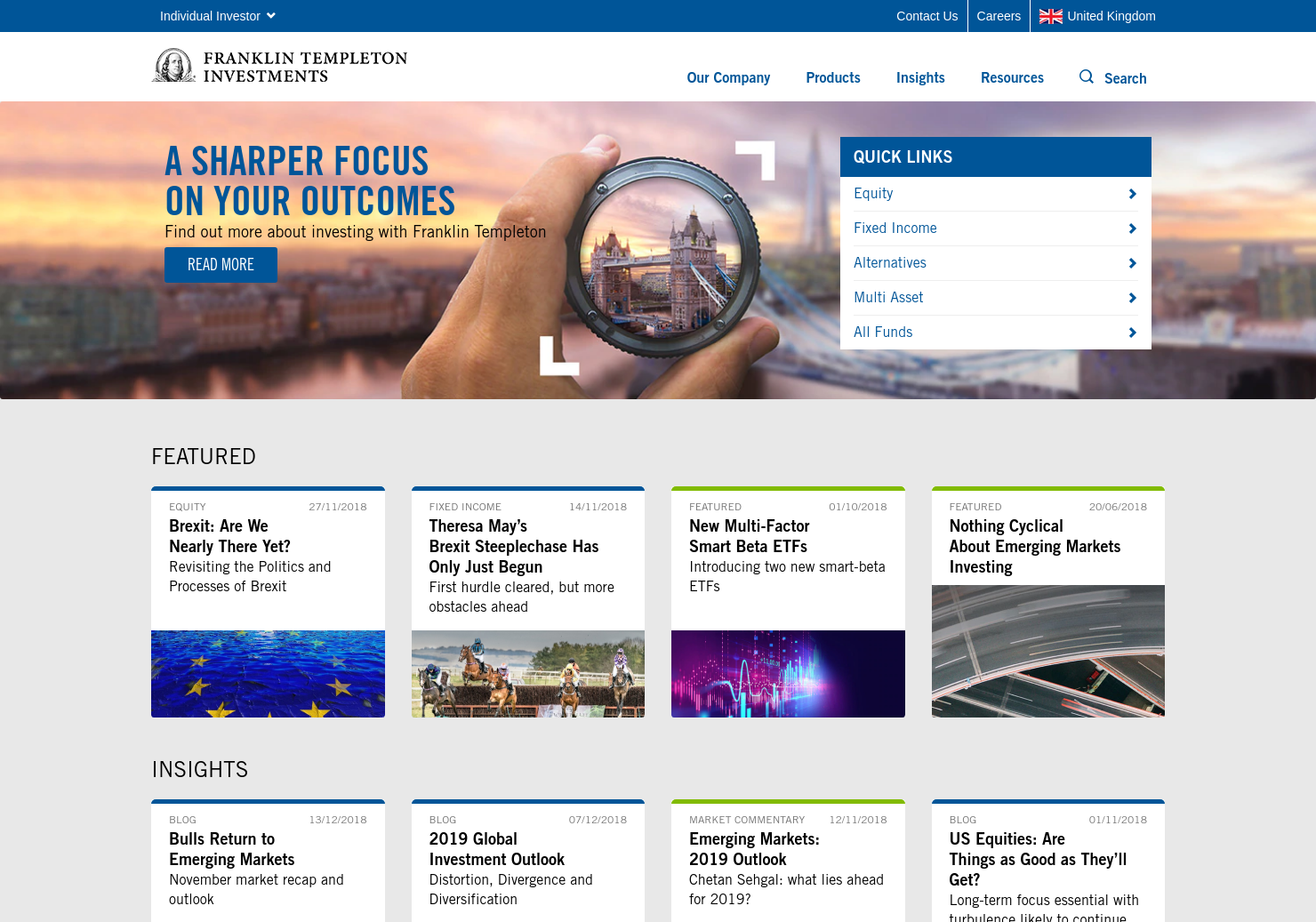Templeton Emerging Markets Home Page