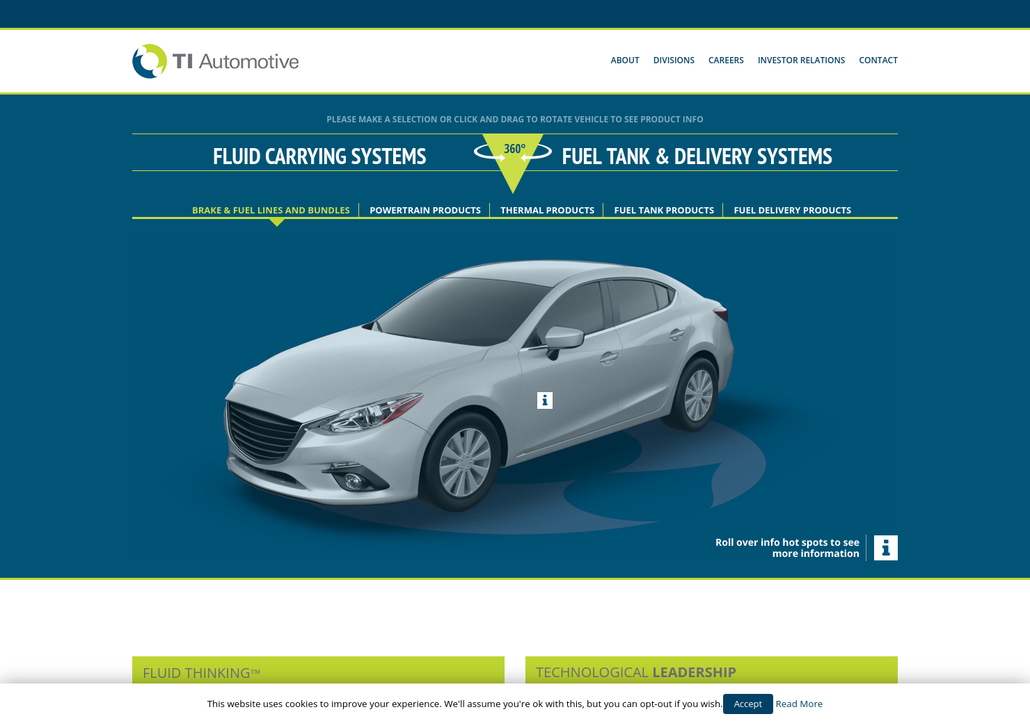 TI Fluid Systems Home Page