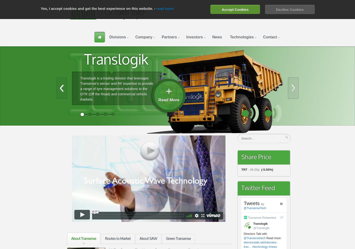 Transense Home Page
