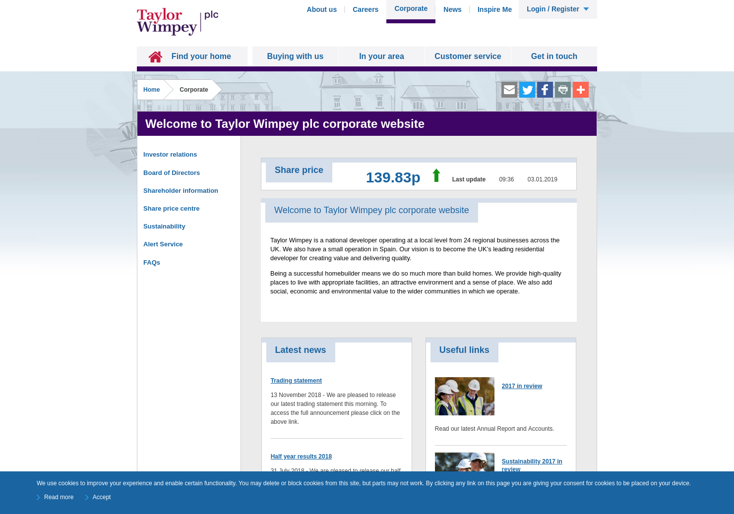 Taylor Wimpey Home Page
