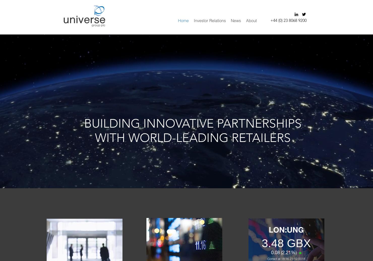 Universe Home Page