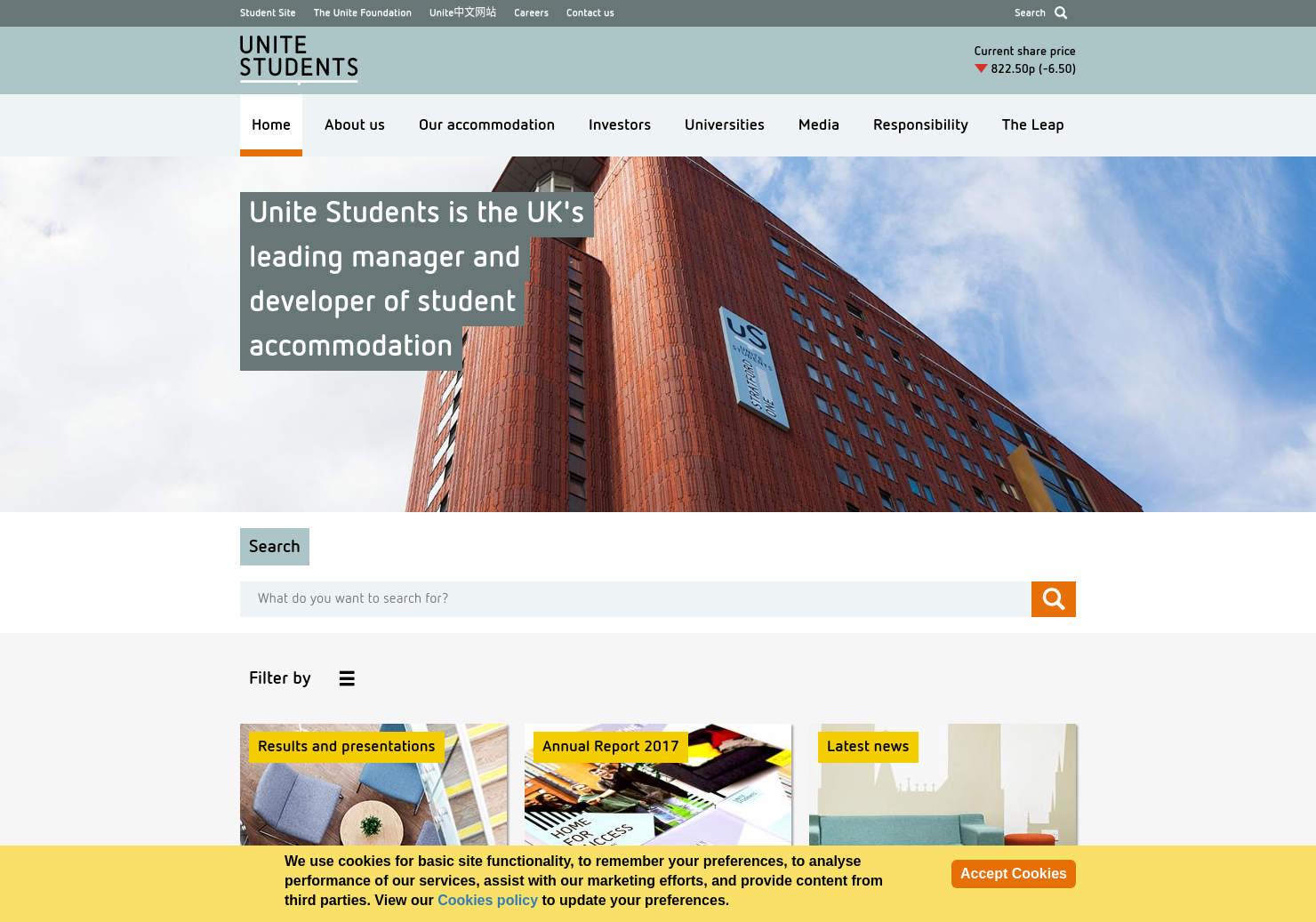 Unite Home Page