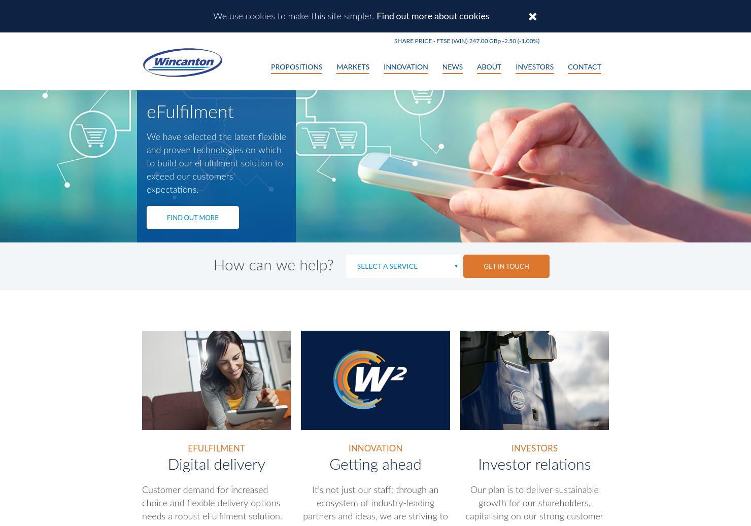 Wincanton Home Page