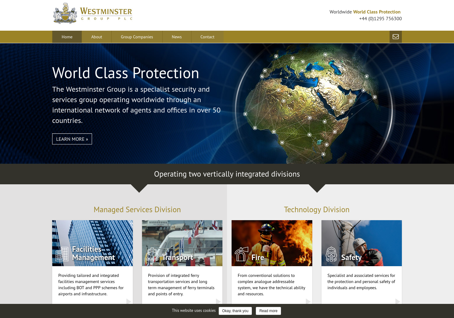 Westminster Group Home Page