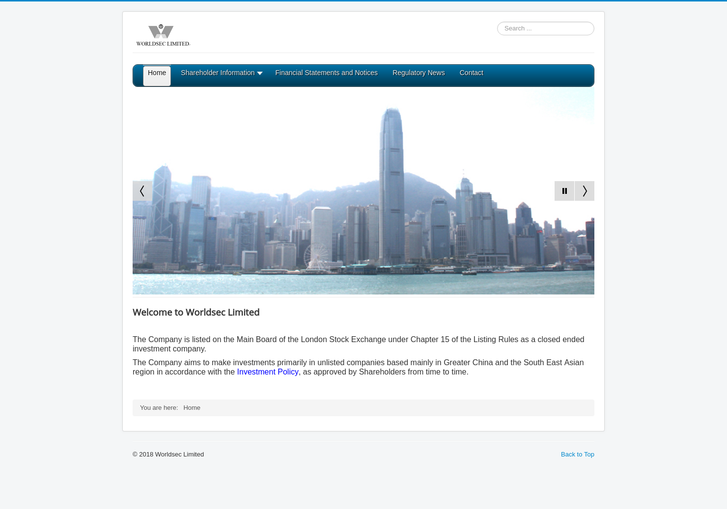 Worldsec Home Page
