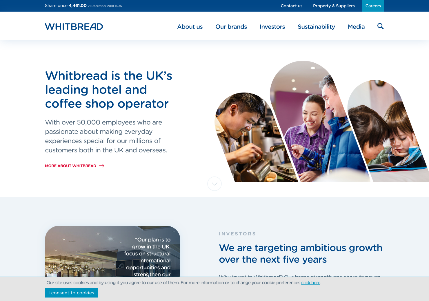 Whitbread Home Page