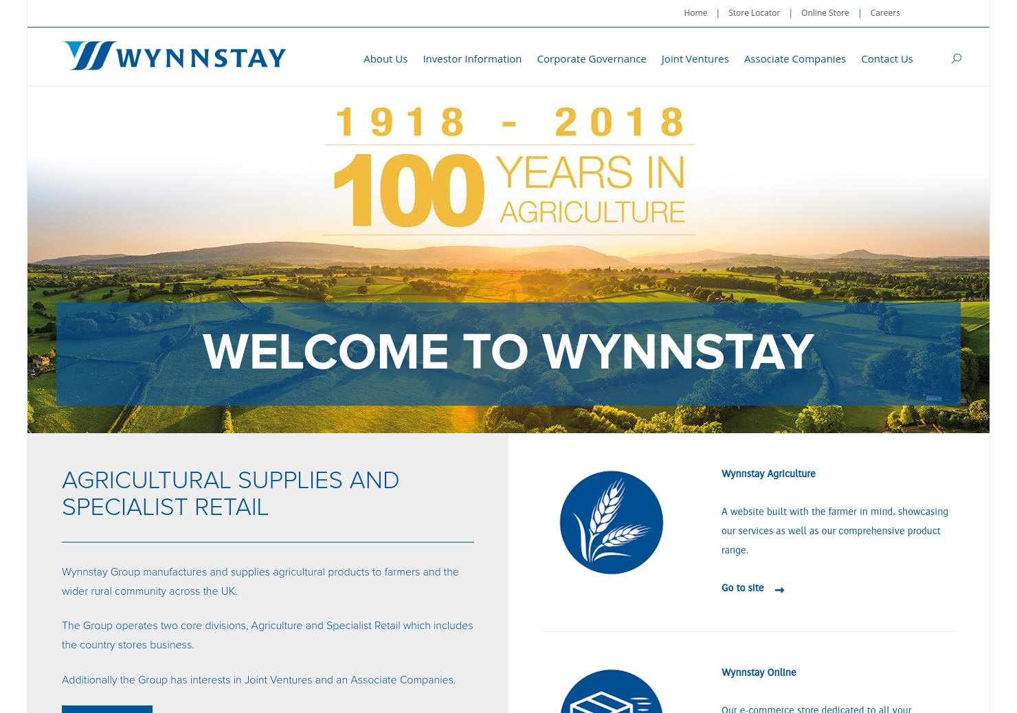 Wynnstay Home Page