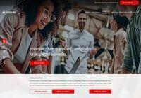 Banco Santander Home Page