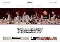 Burberry Home Page
