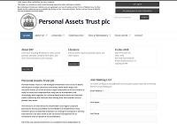Personal Assets Trust Home Page