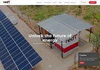Redt Energy Home Page