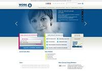 Work Service Home Page
